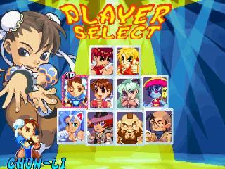 Screenshot Thumbnail / Media File 1 for Pocket Fighter [NTSC-U]